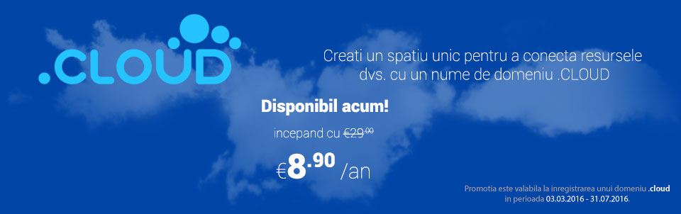 domenii .cloud